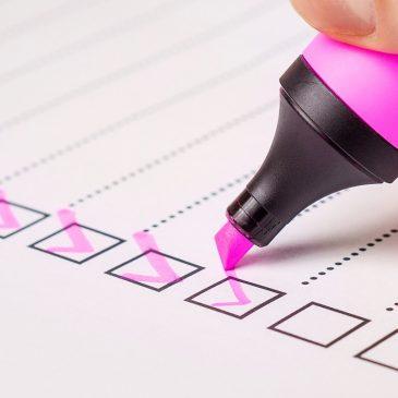 checklist webform